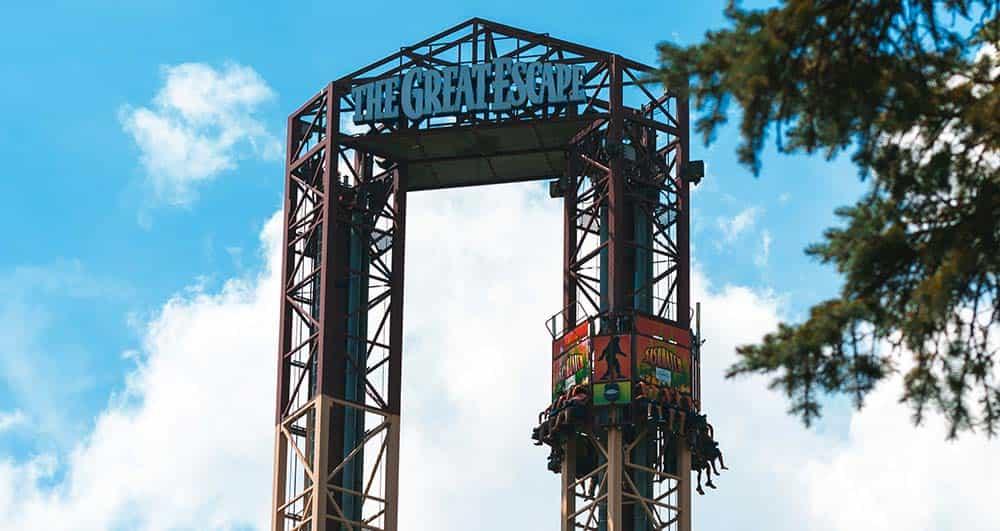 Great escape amusement park ride