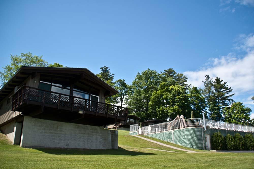 Villa next to pool