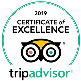 2019 Certificate Excellence - Trip Advisor